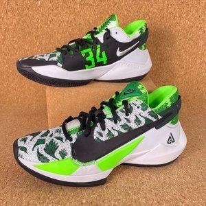 Nike Zoom Freak 2 Naija Pine Green Mens Basketball